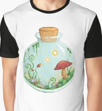 Mushrooms in a Jar Graphic T-Shirt