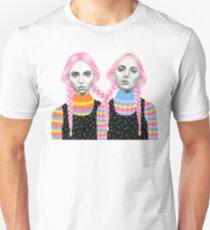 Plaited Twins Unisex T-Shirt