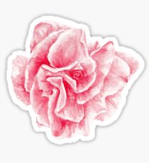 talisman . pink flower for love Sticker
