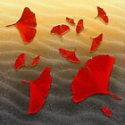 Red Ginko by Lindel Caine