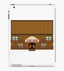 Wild West pixel Saloon iPad Case/Skin