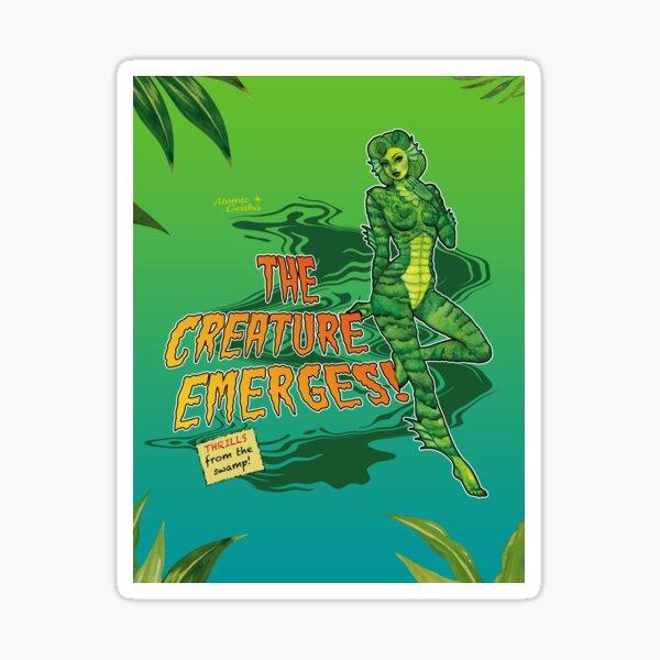 The Creature Emerges! 2 Sticker