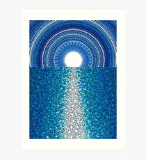Staircase to the Moon Art Print