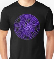 Celtic Pagan Year Wheel Calendar Unisex T-Shirt