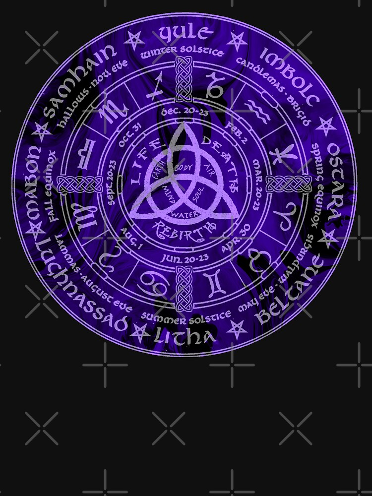 Keltischer heidnischer Jahr-Rad-Kalender von WishingInkwell