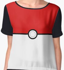 Pokemon - pokeball Women's Chiffon Top