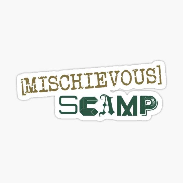 Mischievous Scamp Sticker