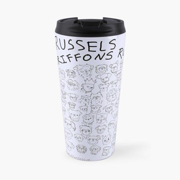 Lavender- Brussels Griffons Rule Travel Mug
