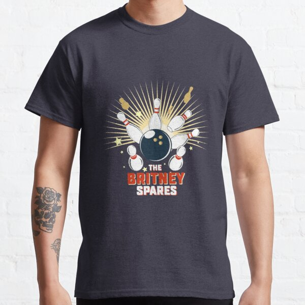 The Britney Spares Bowling Team Classic T-Shirt