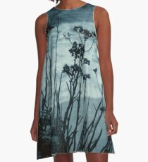 Midnight Dreams of the Sea A-Line Dress