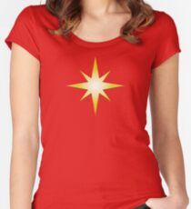 Marvellous Star Women's Fitted Scoop T-Shirt