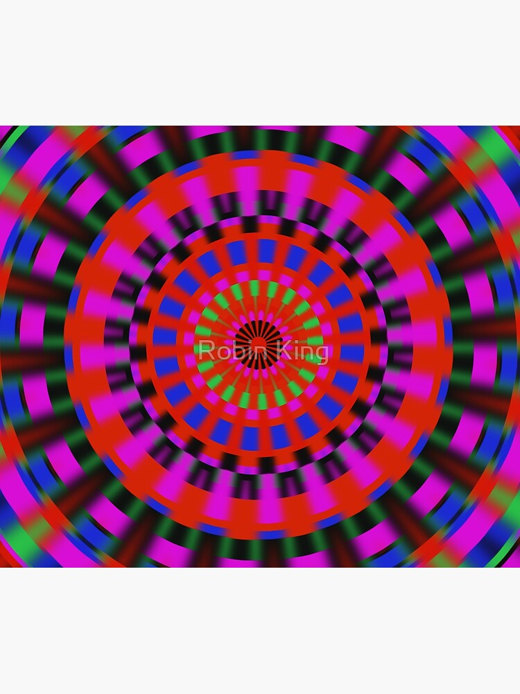 Bright Colors Spinning by artbyrobinking