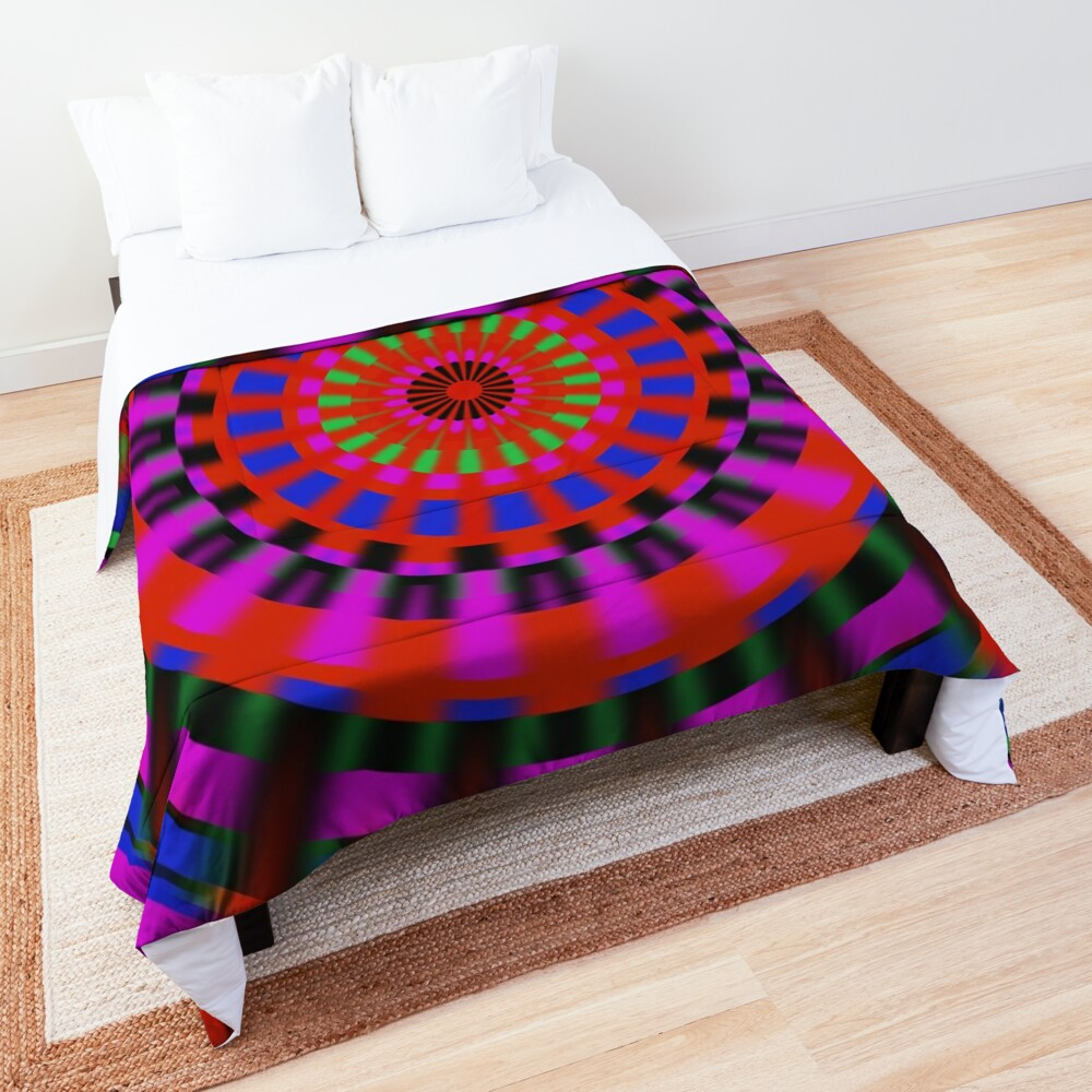 Bright Colors Spinning Comforter