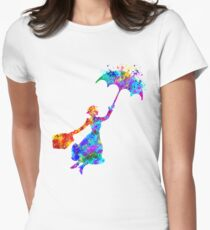 mary poppins  Women's Fitted T-Shirt