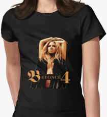 beyonce 4 album cover 2011 - KLUWER Womens Fitted T-Shirt
