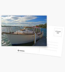 The family boat Postcards