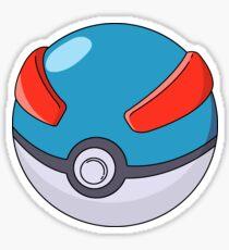 Super Poke Ball Sticker
