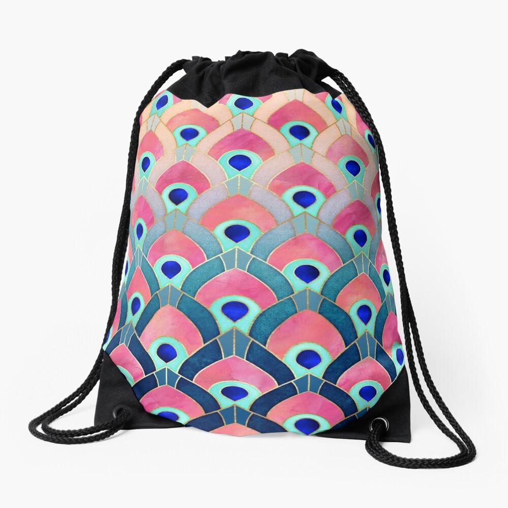 Feathered 1 Drawstring Bag