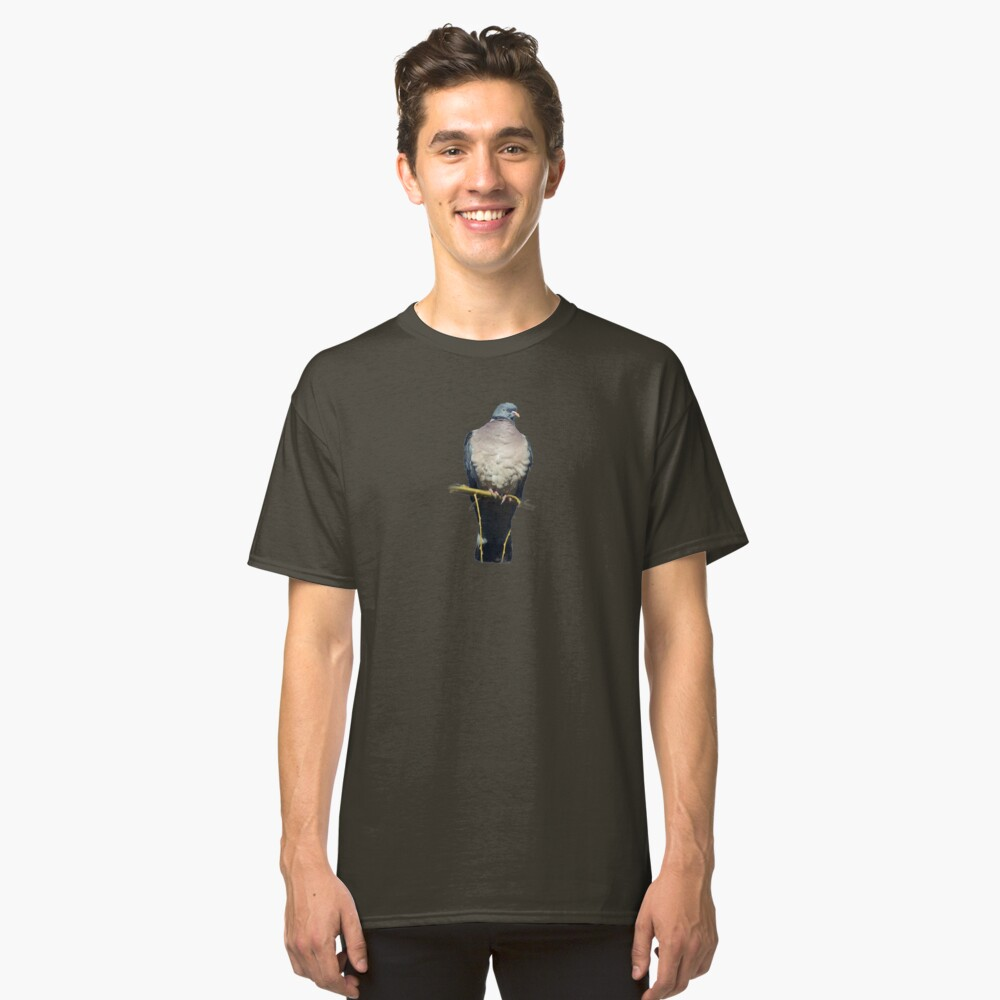 Pigeon Perch Classic T-Shirt Front