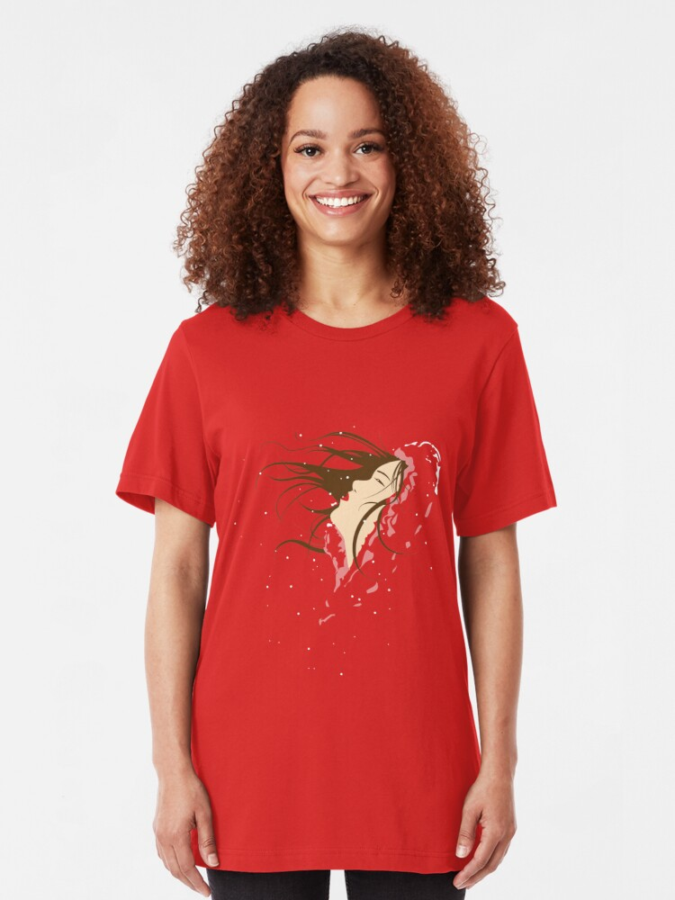 Alternate view of A Winter's Snow Slim Fit T-Shirt