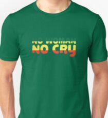 No Woman No Cry Bob Marley Lyrics Peace Love Unisex T-Shirt