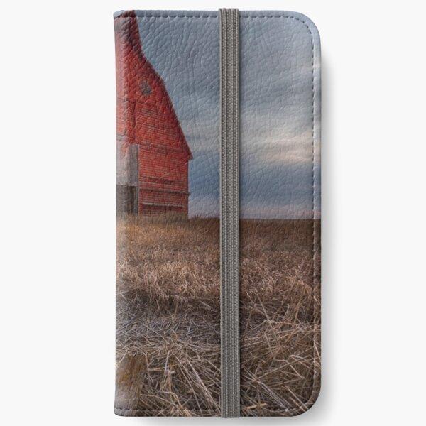 Big Red Barn iPhone Wallet
