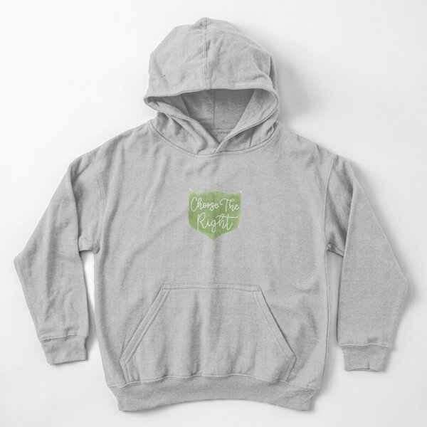 Ctr - choose the right Kids Pullover Hoodie