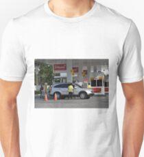 shell gas station Unisex T-Shirt