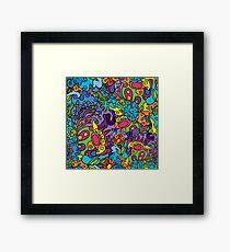 Psychedelic LSD Trip Ornament 0001 Framed Print
