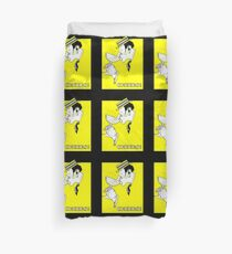 Jazz age deco Art Champagne Cheers Duvet Cover