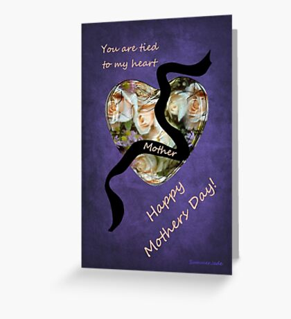 Thoughts for a Mother ~ Far Away Greeting Card