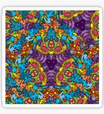 Psychedelic LSD Trip Ornament 0002 Sticker