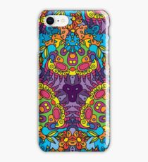 Psychedelic LSD Trip Ornament 0002 iPhone Case/Skin