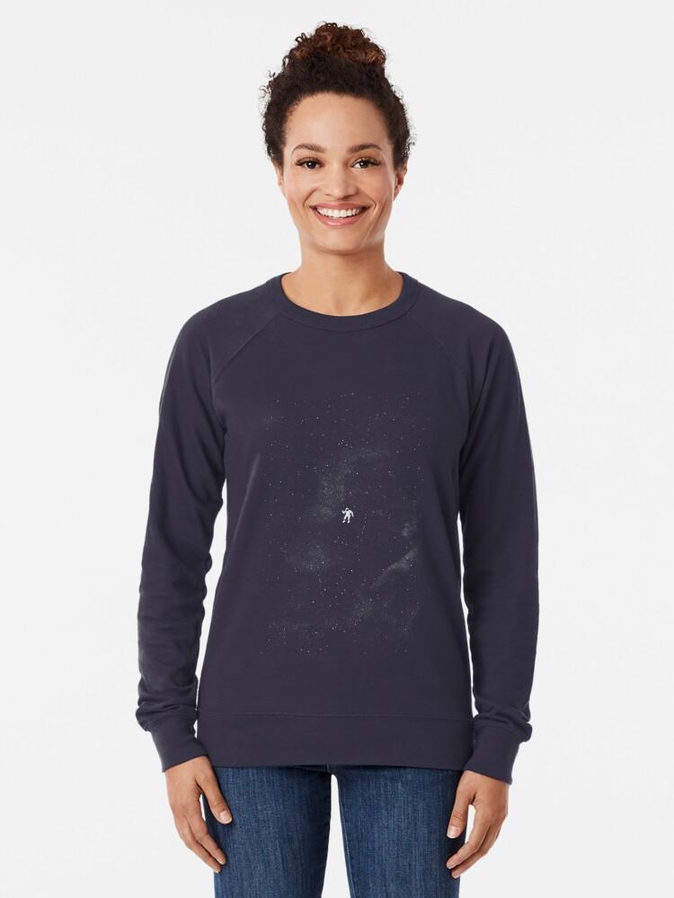 Alternate view of Gravity - Dark Blue Lightweight Sweatshirt