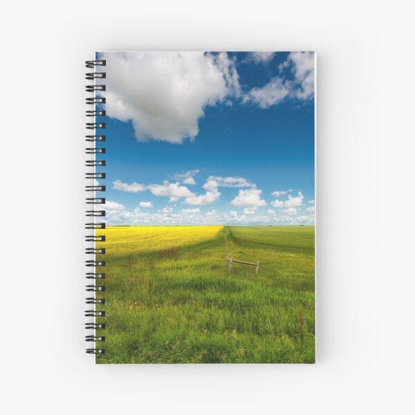 Two Fields Spiral Notebook