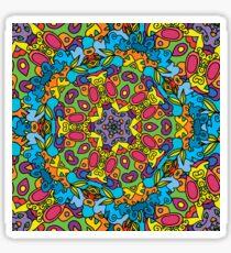 Psychedelic LSD Trip Ornament 0003 Sticker