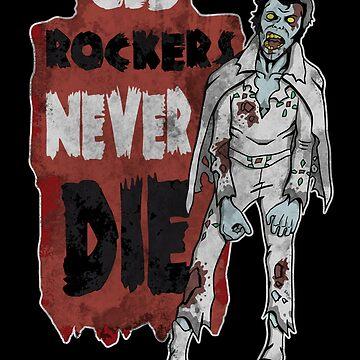 """Old Rockers Never Die"" by andresMvalle"