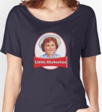 Little Diabeetus (little Debbie) 'lil debbie logo parody Women's Relaxed Fit T-Shirt
