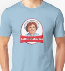 Little Diabeetus (little Debbie) 'lil debbie logo parody T-Shirt