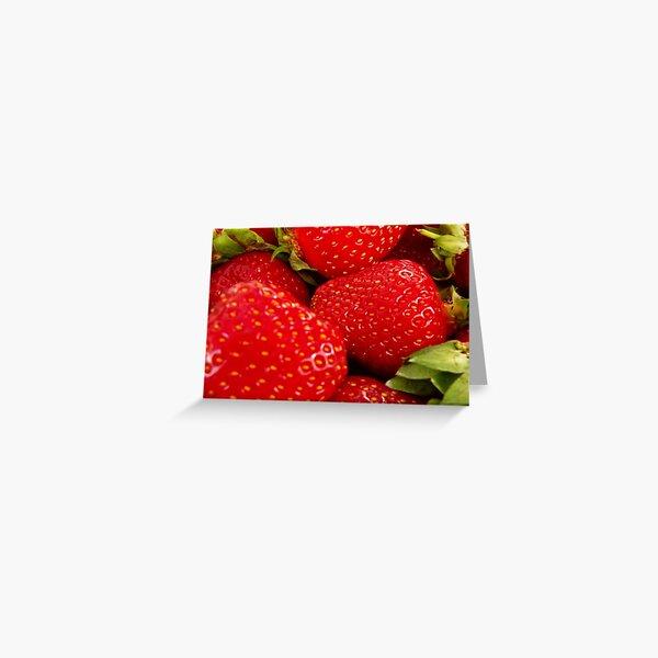 Strawberries! Bolzano/Bozen, Italy Greeting Card