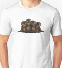 an Otter Party is a Cuddle Party Unisex T-Shirt