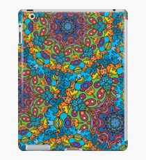 Psychedelic LSD Trip Ornament 0005 iPad Case/Skin