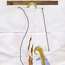 Christ on the Cross (after Giotto) by Ina Mar