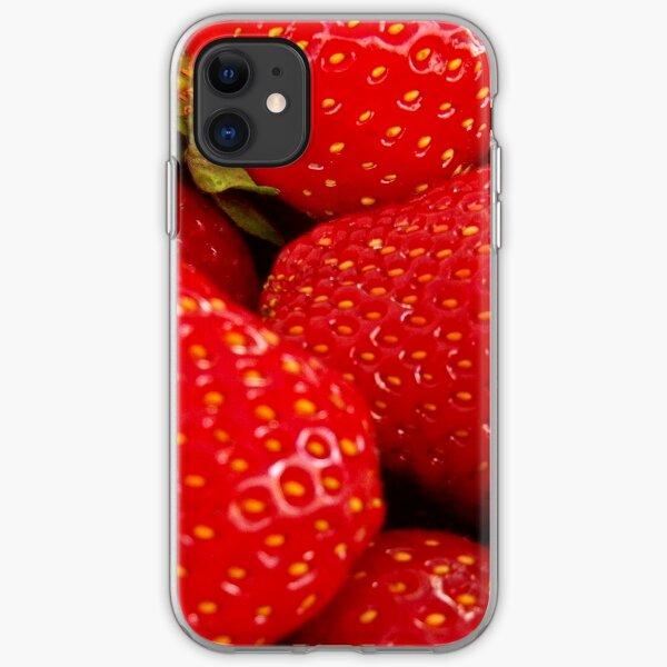 Strawberries! Bolzano/Bozen, Italy iPhone Soft Case