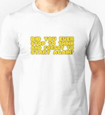 Winnie The Pooh Funny Quote Cool Cartoon Clever  Unisex T-Shirt