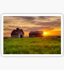 A May Sunrise at the Barn and Crib Sticker