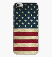 Vinilo o funda para iPhone Vintage American Flag