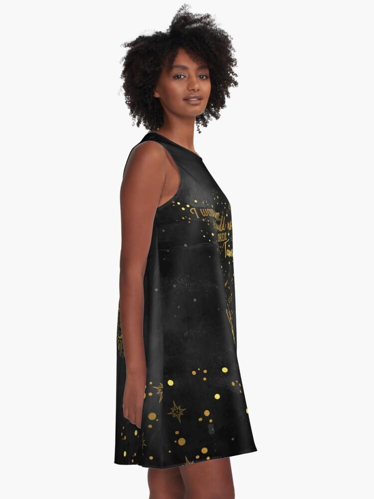 Alternative Ansicht von ACOMAF - Gezähmt A-Linien Kleid