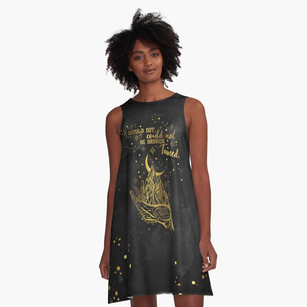 ACOMAF - Gezähmt A-Linien Kleid
