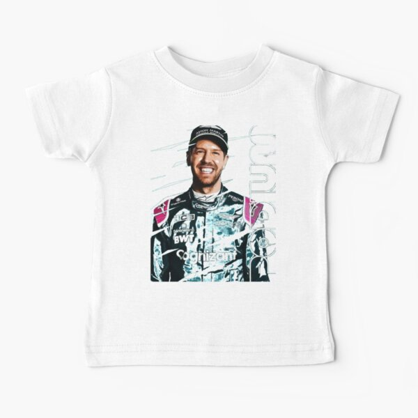 sebastian vettel aston martin, Sebastian Vettel, aston martin f1 2021, vettel f1 aston martin Baby T-Shirt